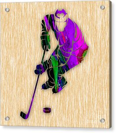 Hockey Acrylic Print