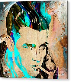 James Dean Collection Acrylic Print by Marvin Blaine