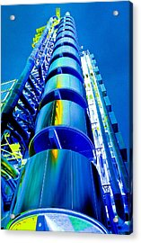 Lloyd's Building London Art Acrylic Print