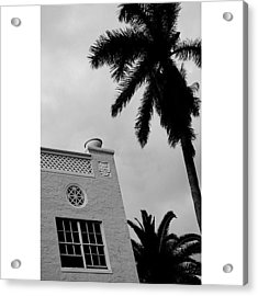 {miami Beach's Art Deco}  In 1979 Acrylic Print