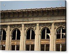 Michigan Central Station Acrylic Print by Gary Marx