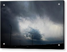 Acrylic Print featuring the photograph More Strong Cells Moving Over South Central Nebraska by NebraskaSC