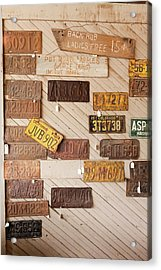 Oro Grande, California, United States Acrylic Print by Julien Mcroberts