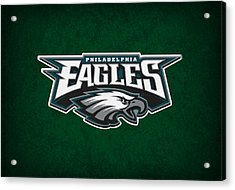 Philadelphia Eagles Acrylic Print by Joe Hamilton