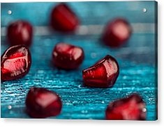 Pomegranate Acrylic Print by Nailia Schwarz