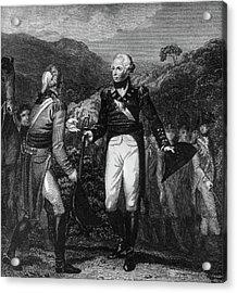 Saratoga Surrender, 1777 Acrylic Print