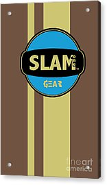 Slam One Gear Acrylic Print by James Eye