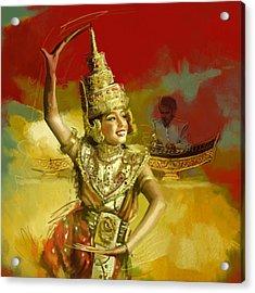 South Asian Art  Acrylic Print