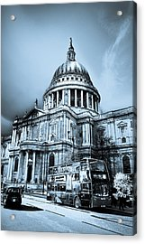 St Paul's Cathedral London Art Acrylic Print by David Pyatt