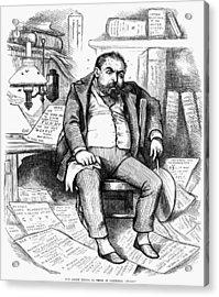 Thomas Nast (1840-1902) Acrylic Print