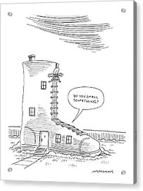 New Yorker May 30th, 2005 Acrylic Print