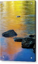 Usa, New York, Adirondack Mountains Acrylic Print