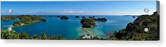 100 Islands National Park Acrylic Print