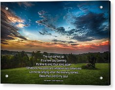 10000 Reasons Acrylic Print