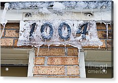1004 Main Street Small Town Usa - Color Acrylic Print by Andee Design