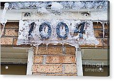 1004 Main Street Small Town Usa - Color Acrylic Print