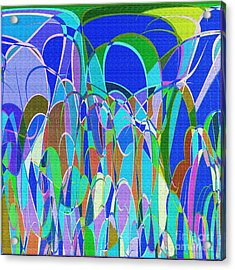 1014 Abstract Thought Acrylic Print by Chowdary V Arikatla