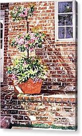 1067 Azalea Way Acrylic Print by David Lloyd Glover