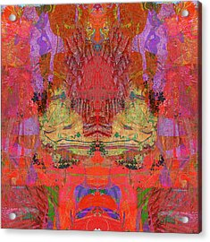 1074 Abstract Thought Acrylic Print by Chowdary V Arikatla