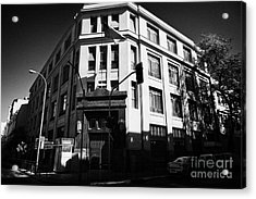 10th Criminal Court Decimo Tercer Juzgado Del Crimen Santiago Chile Acrylic Print by Joe Fox