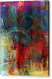 10th Dimension Acrylic Print by Fania Simon