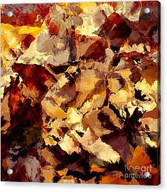 Abstract Acrylic Print by T White
