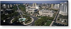 Aerial View Of Buildings In A City Acrylic Print by Panoramic Images