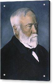 Andrew Carnegie (1835-1919) Acrylic Print