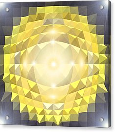 Energy-pyramids Acrylic Print by Ramon Labusch