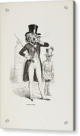 French Caricature Acrylic Print by British Library