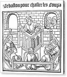 John Calvin (1509-1564) Acrylic Print