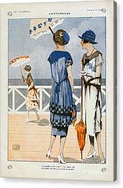 La Vie Parisienne  1919 1910s France Cc Acrylic Print