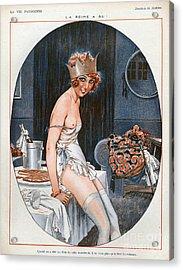 La Vie Parisienne  1926 1920s France Cc Acrylic Print by The Advertising Archives