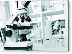 Light Microscope Acrylic Print