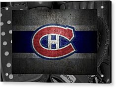 Montreal Canadiens Acrylic Print by Joe Hamilton