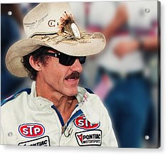 Richard Petty Acrylic Print by Retro Images Archive