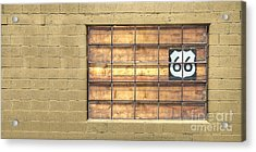 Route 66 Acrylic Print by Twenty Two North Photography
