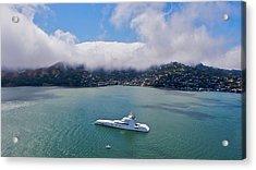 San Francisco Bay Acrylic Print by Steven Lapkin