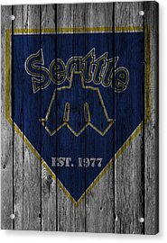 Seattle Mariners Acrylic Print by Joe Hamilton