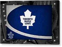 Toronto Maple Leafs Acrylic Print by Joe Hamilton