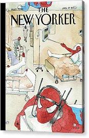 New Yorker January 17th, 2011 Acrylic Print