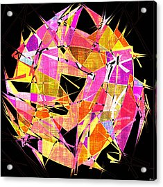 1102 Abstract Thought Acrylic Print by Chowdary V Arikatla