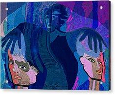 1173 - Dark Angel Acrylic Print