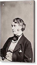 Charles Sumner (1811-1874) Acrylic Print