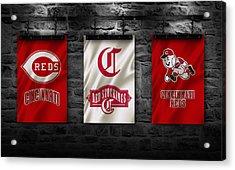Cincinnati Reds Acrylic Print