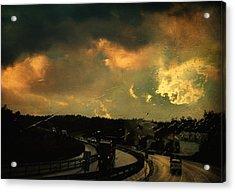 12 Days Of Rain Acrylic Print by Taylan Apukovska