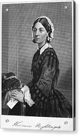 Florence Nightingale Acrylic Print by Granger
