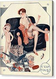 La Vie Parisienne 1927 1920s France Cc Acrylic Print by The Advertising Archives