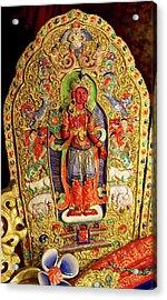 Ladakh, India The Interior Acrylic Print by Jaina Mishra