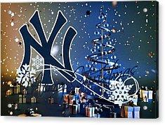 New York Yankees Acrylic Print by Joe Hamilton